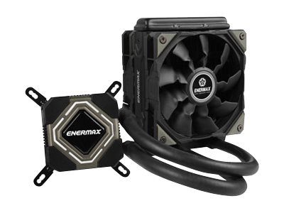 Enermax Liqmax II ELC-LMR120S Liquid Cooler Fan 120mm Radiator, ELC-LMR120S-BS, 20076192, Cooling Systems/Fans
