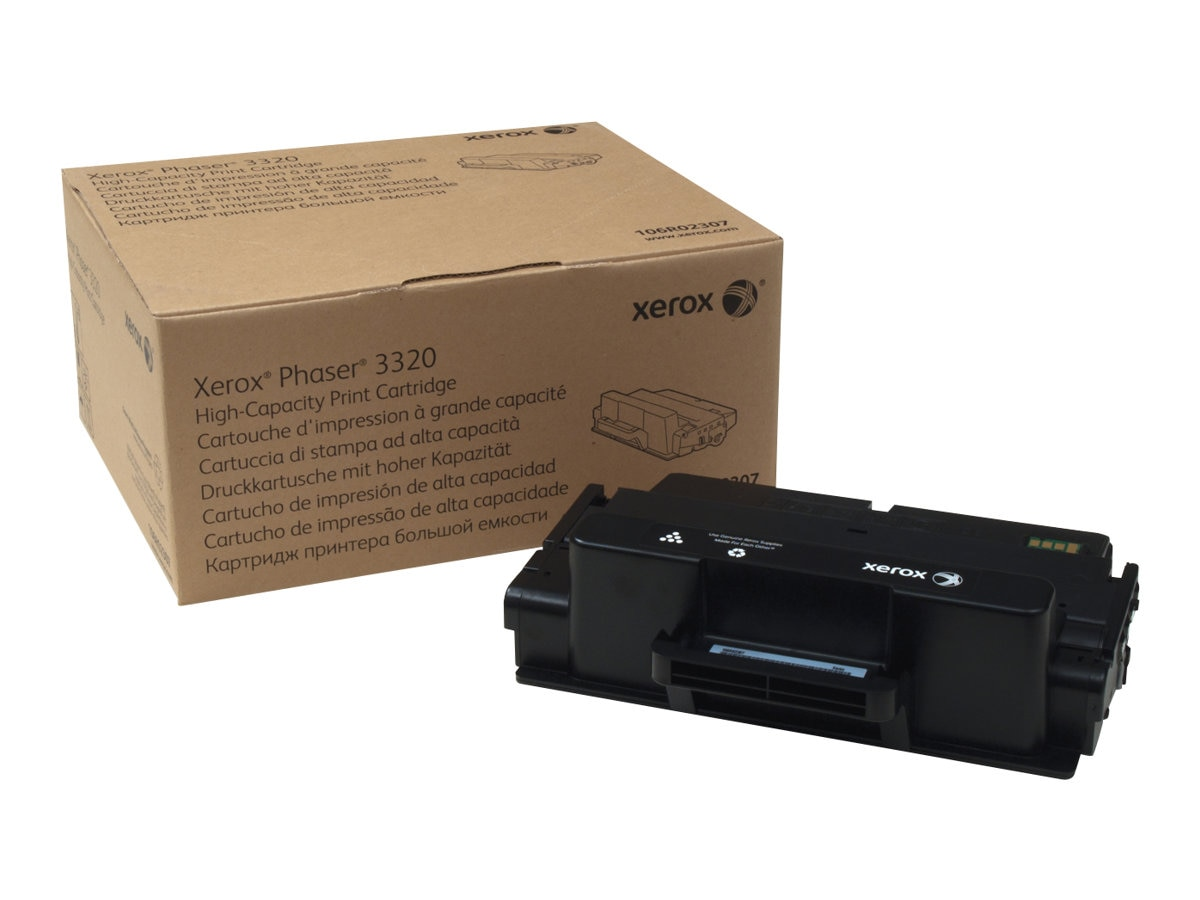 Xerox Black High Capacity Toner Cartridge for Phaser 3320 Series, 106R02307