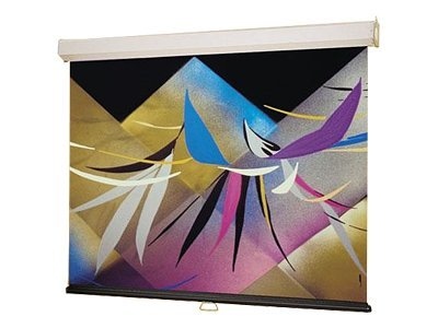 Draper Luma Matt White Projection Screen, Square 1:1, 70 x 70in, 207003