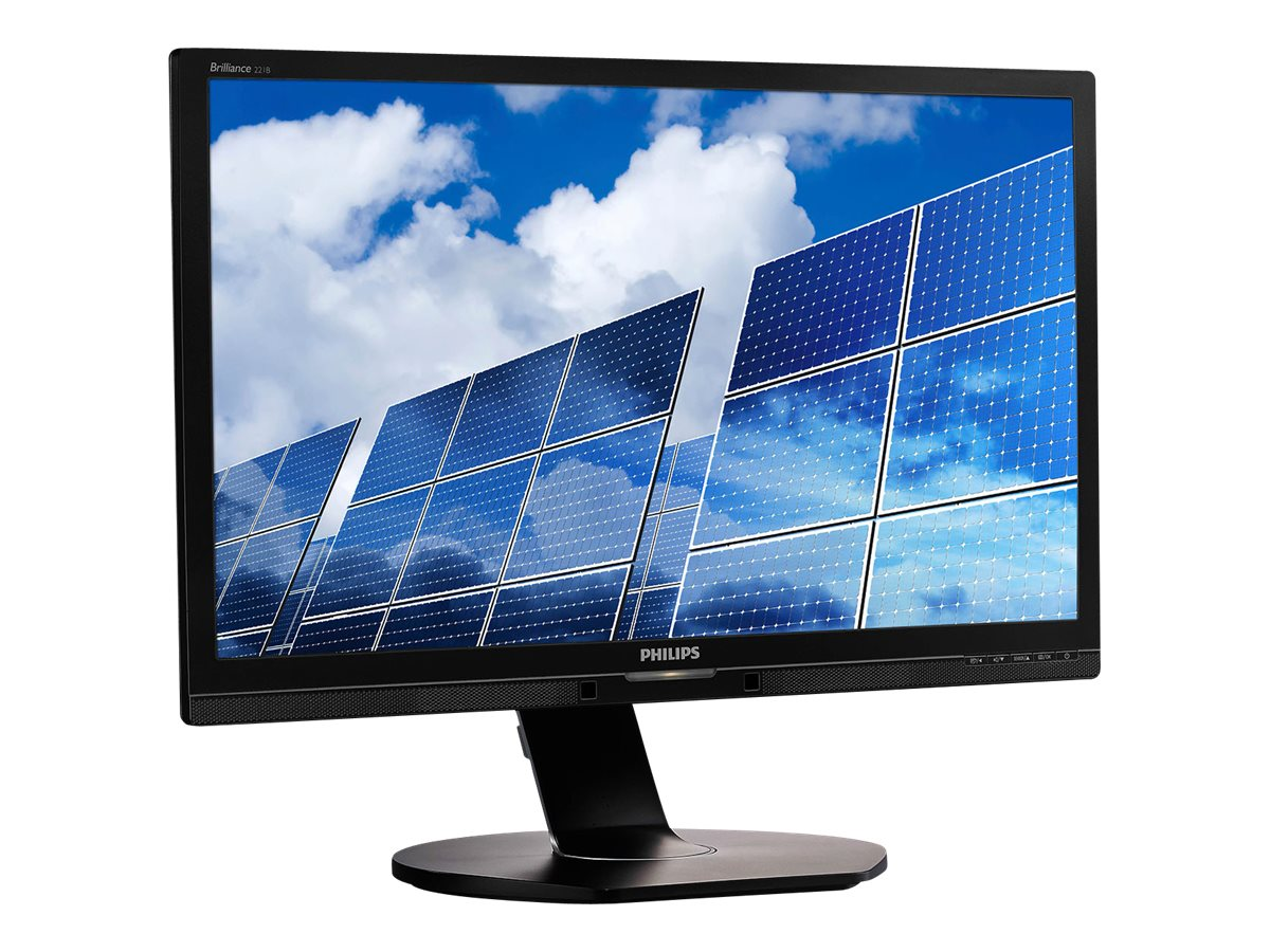 Philips 21.5 1B6QPYEB Full HD LED-LCD Monitor, Black, 221B6QPYEB