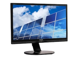 Philips 21.5 1B6QPYEB Full HD LED-LCD Monitor, Black, 221B6QPYEB, 32828478, Monitors