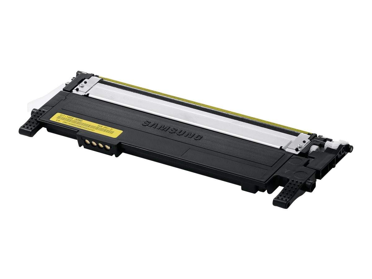 Samsung Yellow Toner Cartridge for CLP-365W Color Laser Printer & CLX-3305FW Color Multifunction Printer, CLT-Y406S