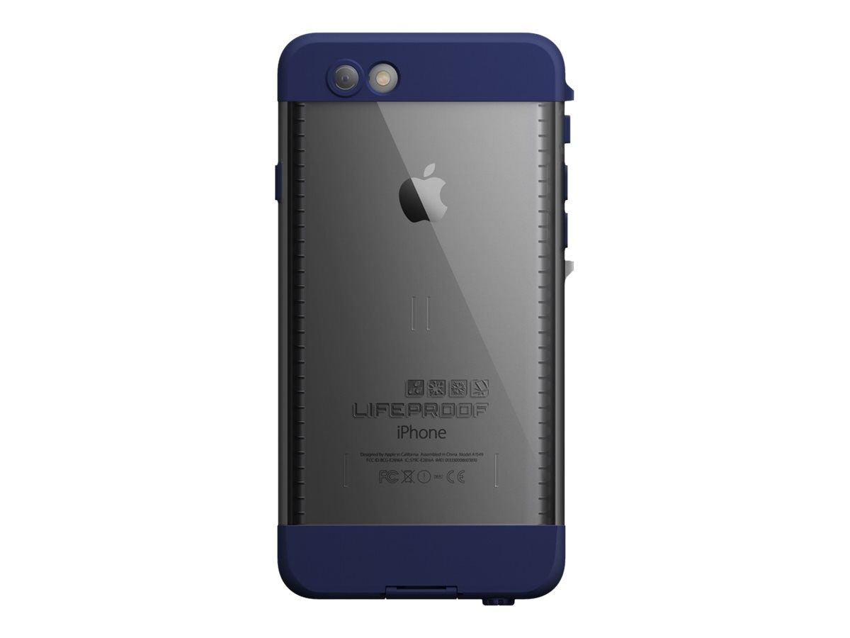 Lifeproof NUUD for iPhone 6, Nt Dive Blue, 77-50363, 18622393, Carrying Cases - Phones/PDAs