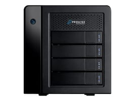 Promise 8-Bay 4X3TB Storage w  1m Thunderbolt 3 Cable, P3R4HD12WUS, 33606818, Hard Drives - External
