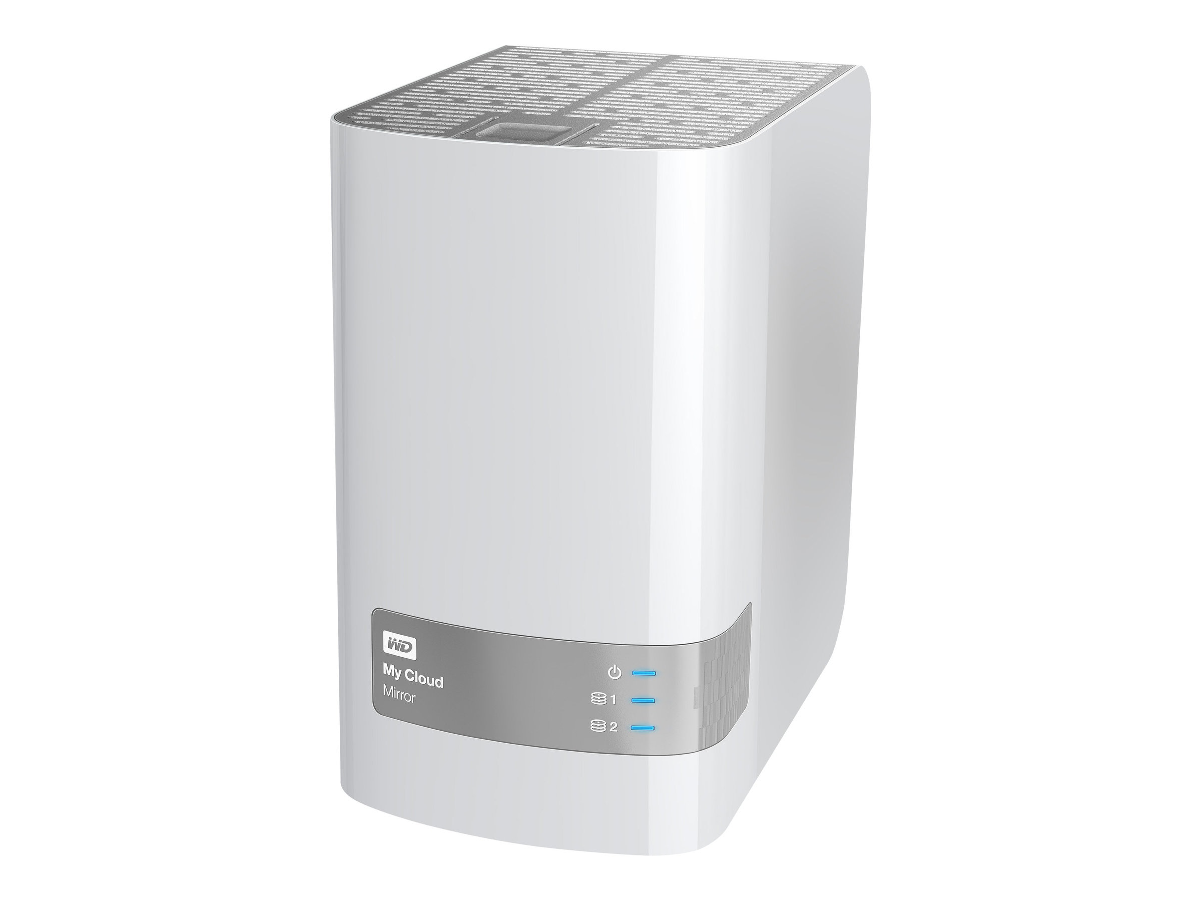 WD 4TB My Cloud Mirror Personal Cloud Storage, WDBZVM0040JWT-NESN, 17376821, Network Attached Storage