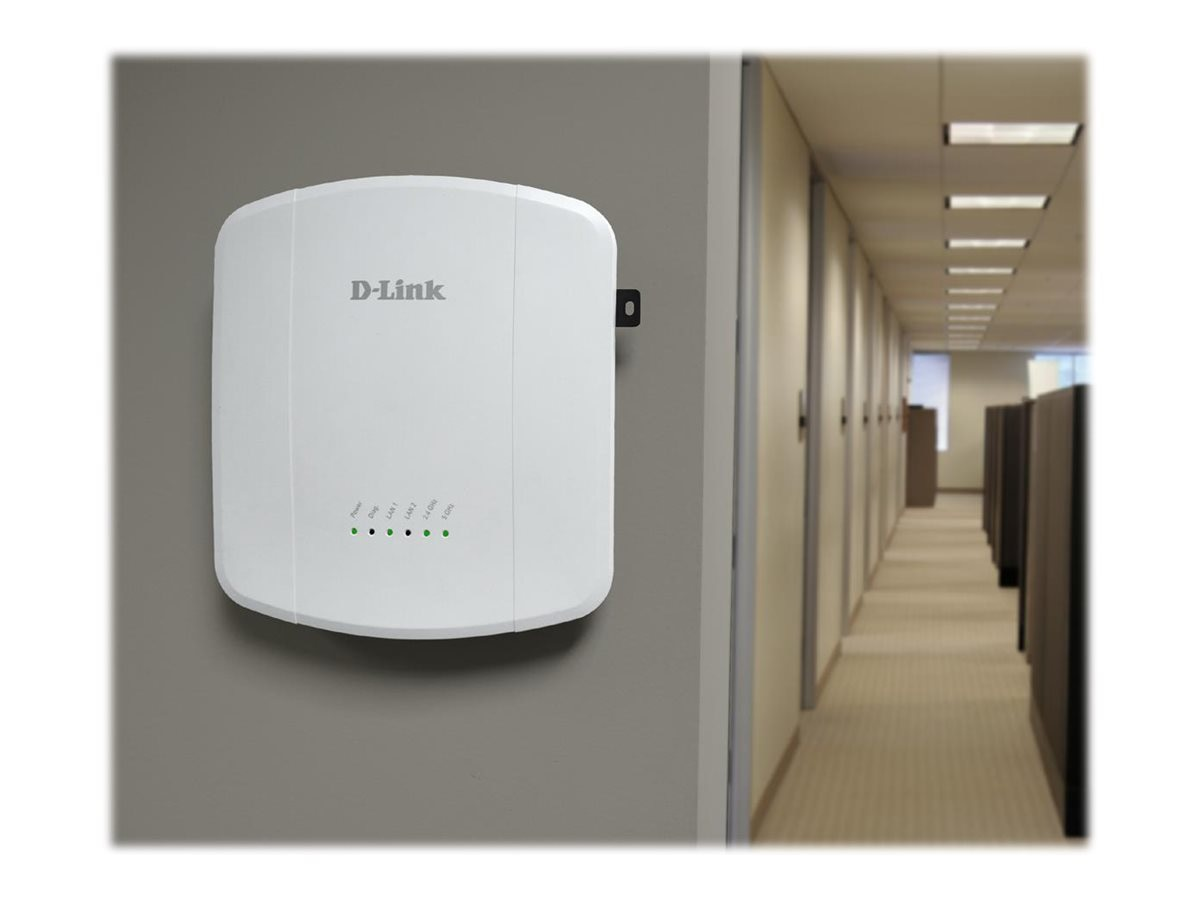 D-Link Wireless AC1750 Dual Band Unified Access Point, DWL-8610AP
