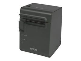 Epson TM-L90 Liner Free Serial USB Thermal Printer - Dark Grey w  Power Supply, C31C412A7991, 30816836, Printers - Bar Code