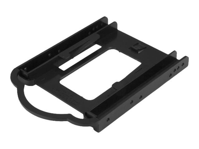 StarTech.com 2.5 Solid State Drive Hard Drive Mounting Bracket for 3.5 Drive Bay - Tool-less Installation, BRACKET125PT
