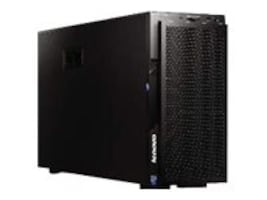 Scratch & Dent Lenovo System x3500 M5 Tower Xeon 6C E5-2620 v3 2.4GHz 16GB 8x2.5 HS Bays M1215 DVD-ROM 4xPCIe 4xGbE 550W, 5464C2U, 32022597, Servers