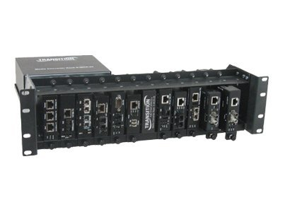 Transition 12-Slot Media Converter Rack