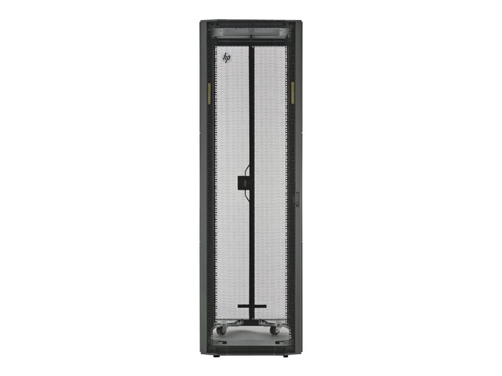 HPE 11642 1200mm Network Shock Rack, H6J72A, 16883240, Racks & Cabinets