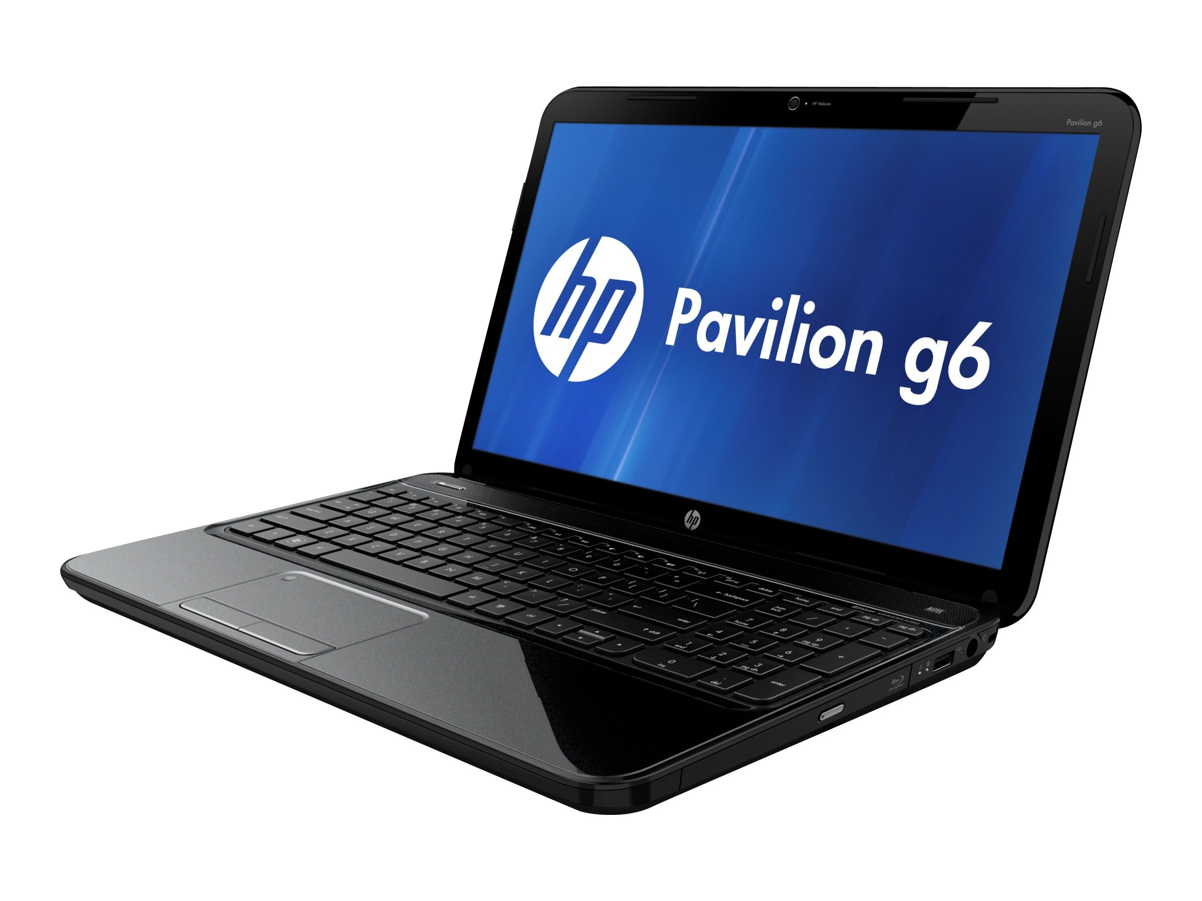 HP Pavilion G6-2311nr 2.5GHz A4-Series 15.6in display, D8X87UA#ABA, 15532317, Notebooks