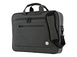 V7 Slim Briefcase for UltraBook 14.1 13.3, Trolley Strap, CTPX6-1NC, 32919581, Carrying Cases - Notebook