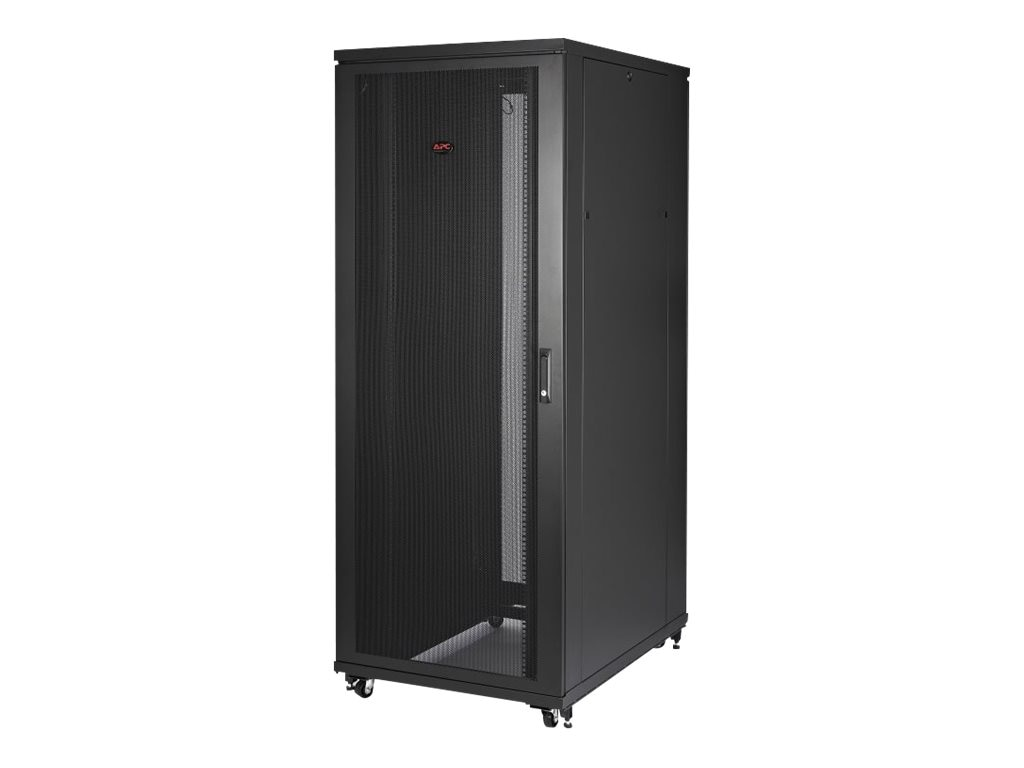 APC NetShelter SV 48U 800mm Wide x 1200mm Deep Enclosure with Sides, Black, AR2587