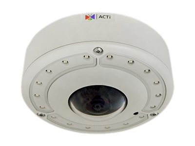 Acti 6MP Day Night Extreme WDR Outdoor Hemispheric Dome Camera with 1.3mm Lens