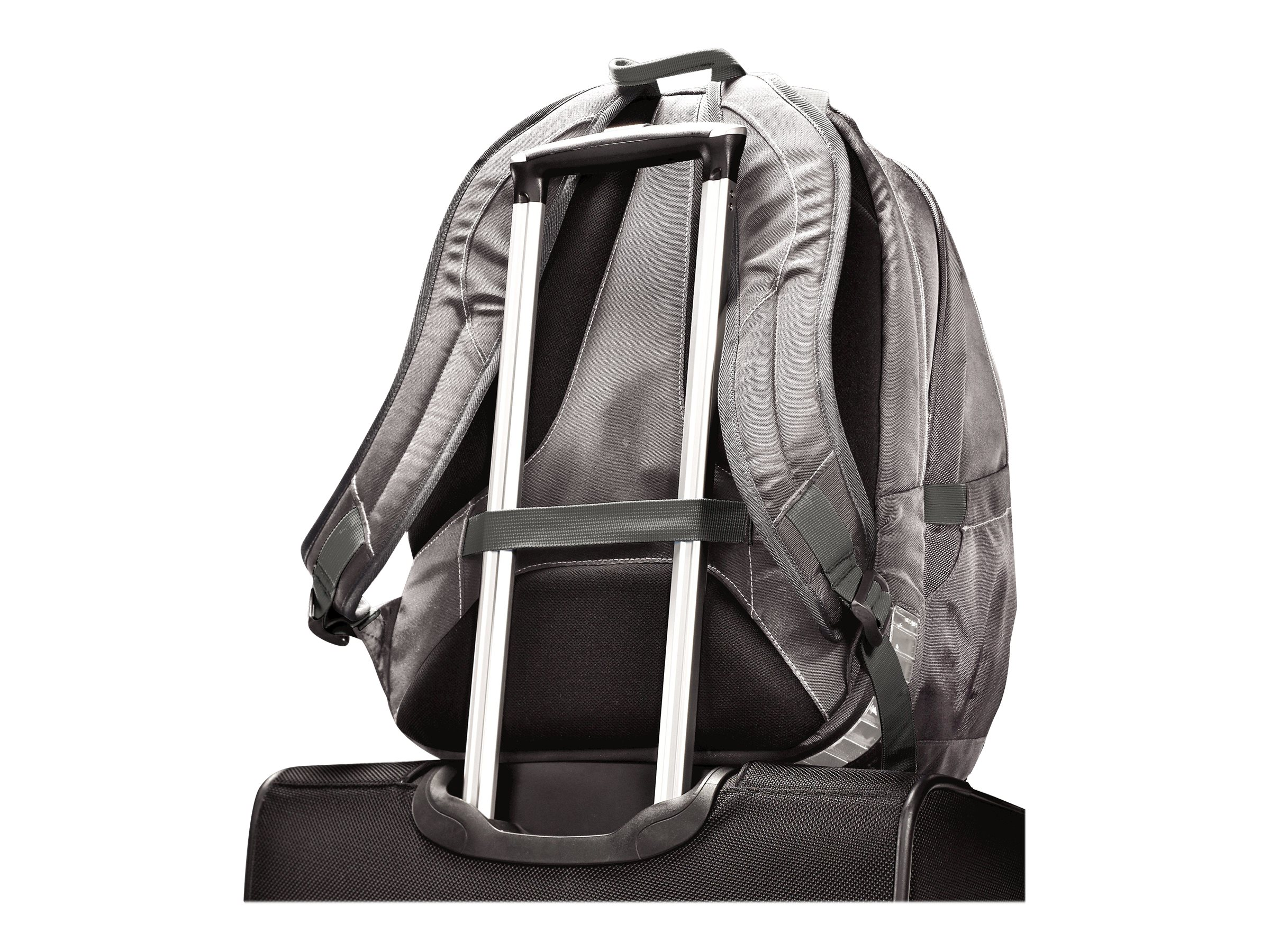 Stephen Gould Viz Air Backpack 15.6, Gray w  Smoke Trim, 66256-1408