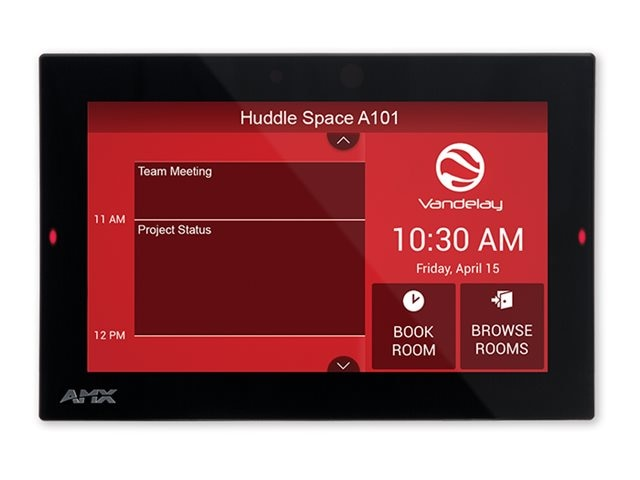 AMX 7 Acendo Book Scheduling Touch Panel