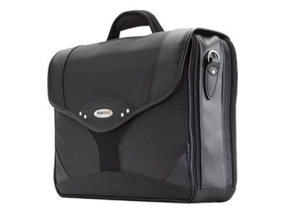 Mobile Edge Premium Briefcase, Charcoal Black, 1680D Ballistic Nylon