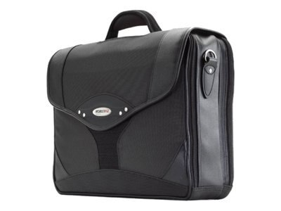 Mobile Edge Premium Briefcase, Charcoal Black, 1680D Ballistic Nylon, MEBCP1, 6101355, Carrying Cases - Notebook