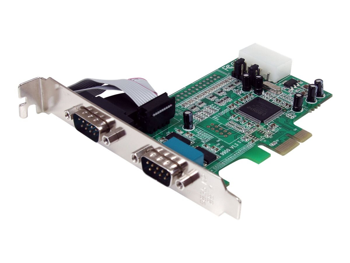 StarTech.com 2-port LP PCI Express Serial Card