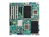 Supermicro Motherboard, MCP55 Pro, Dual Opteron QC, EATX, Max 128GB DDR2, 2PCIEX8, 4PCIX, GBE, Vid, SATA, H8DME-2, 7630064, Motherboards