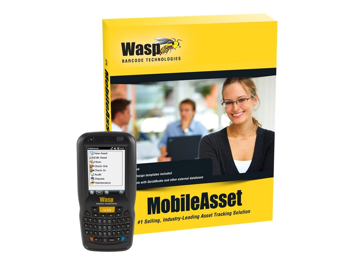 Wasp MobileAsset Professional with DT60 (5-user), 633808927547, 17411009, Portable Data Collector Accessories