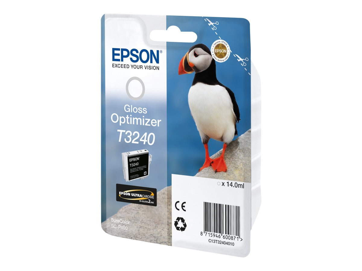 Epson 324 Gloss Optimizer Ink Cartridge, T324020, 30889402, Ink Cartridges & Ink Refill Kits