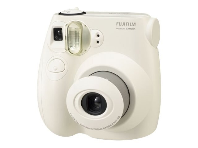 Fujifilm Instax Mini 7S Camera, White, 16162434, 13727516, Cameras - Film