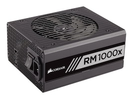 Corsair RM1000x 1000W 80 PLUS Gold Certified Fully Modular Power Supply Unit, CP-9020094-NA, 31631163, Power Supply Units (internal)