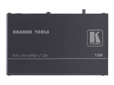Kramer 1:2 Microphone to Line Distribution Amplifier, 106, 15932329, Stereo Components