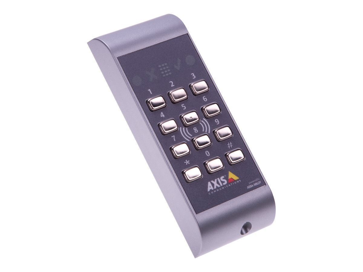 Axis A4011-E Touch Free Reader w  Keypad Indoor Outdoor
