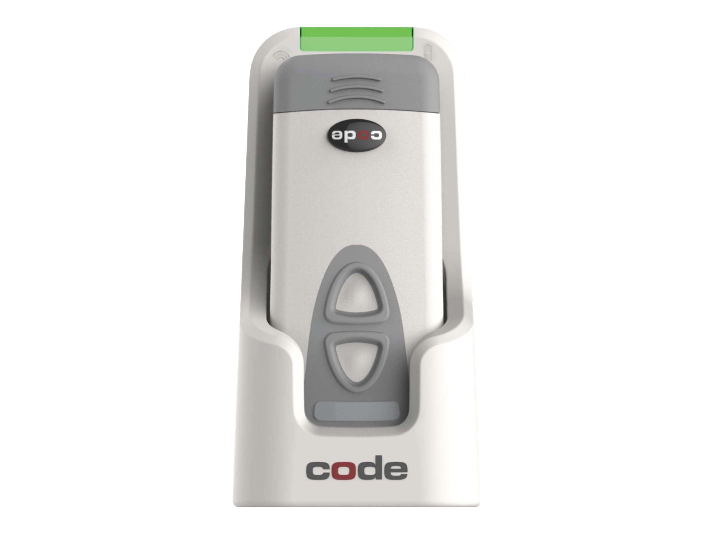 Code Corporation CR2600 Palm LG Barcode Scanner w Charging Station
