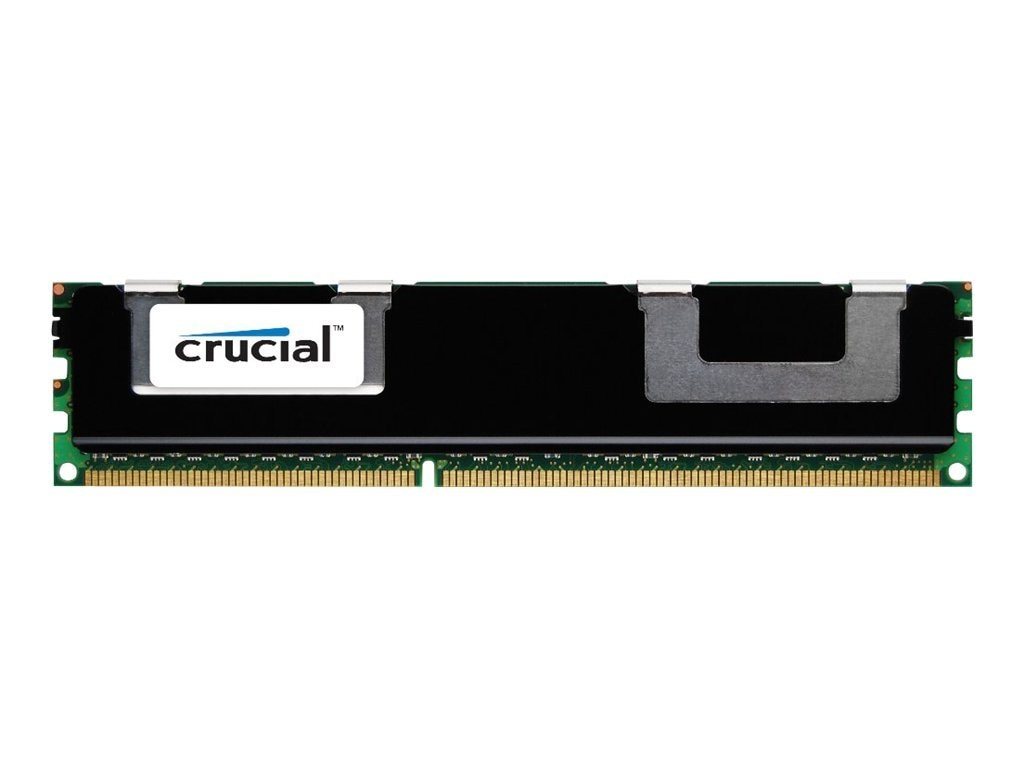 Crucial 4GB PC3-12800 240-pin DDR3 SDRAM DIMM, CT4G3ERSLD8160B, 16470023, Memory