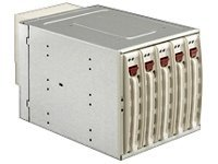 Supermicro CSE-M35TQ SATA Mobile Rack - Beige, CSE-M35TQ, 7047098, Hard Drive Enclosures - Multiple