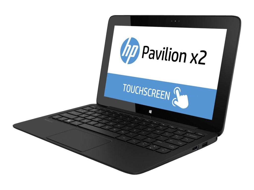 HP Pavilion 11-H010nr X2 Pentium N3510 2.0GHz 4GB 64GB bgn BT 2xWC 2C 11.6 HD Touch W8-64, E8C14UA#ABA, 16379318, Notebooks - Convertible