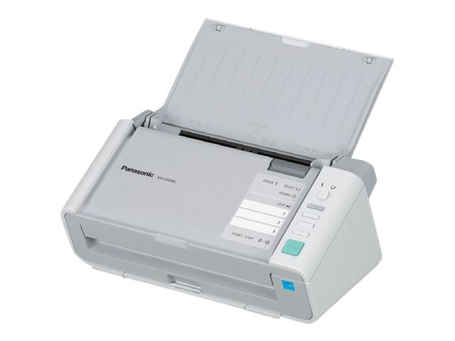 Panasonic Scanner Color Binary 30ppm 60ipm 200dpi USB 2.0 ISIS Certified w  3-year NEAT Subscription, KV-S1026C-3N, 28505529, Scanners