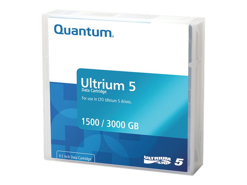Quantum LTO-5 Ultrium Data Cartridge, MR-L5MQN-01