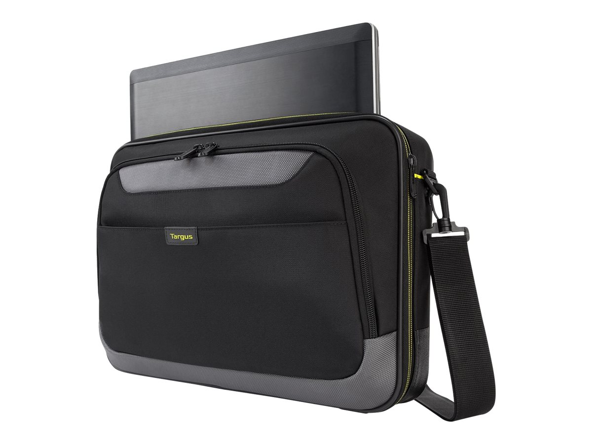 Targus Citygear II Clamshell Case w  Dome Shock Dispersion, Black Gray, TCG058, 30590048, Carrying Cases - Notebook