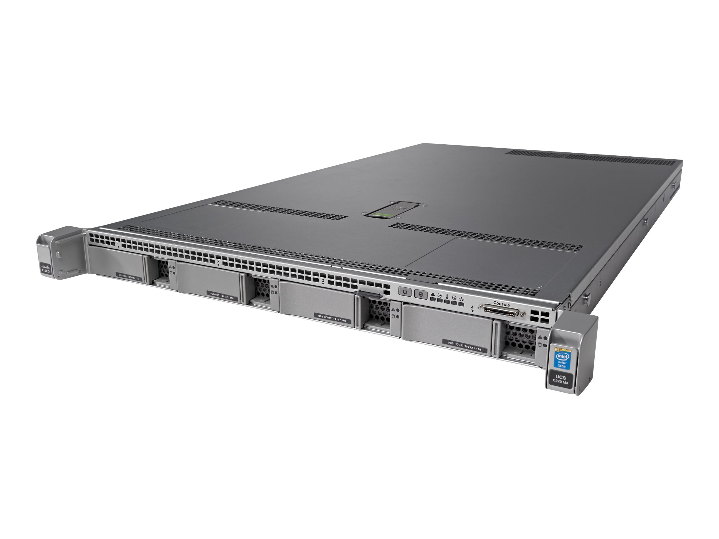 Cisco UCS Smart Play Select C220 M4S Standard 1 (2x)Xeon E5-2630 v3 64GB VIC1227, UCS-SPL-C220M4-S1, 20524231, Servers