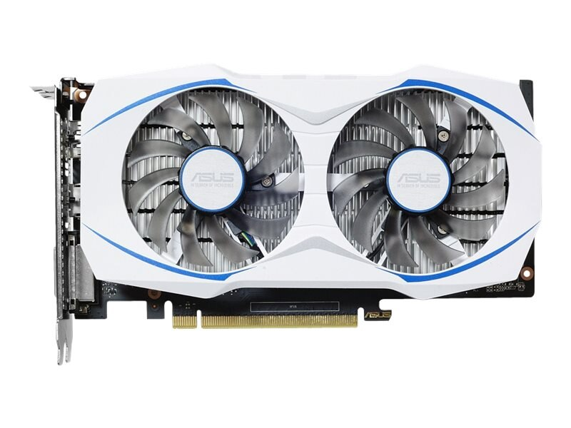 Asus NVIDIA GeForce GTX 1050 PCIe 3.0 Graphics Card, 2GB GDDR5, DUAL-GTX1050-O2G
