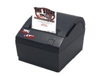 TPG A799 Thermal 2-Color 2MB Ethernet Receipt Printer - Black w  Knife & Power Supply, A799-720E-TD00, 8380239, Printers - POS Receipt