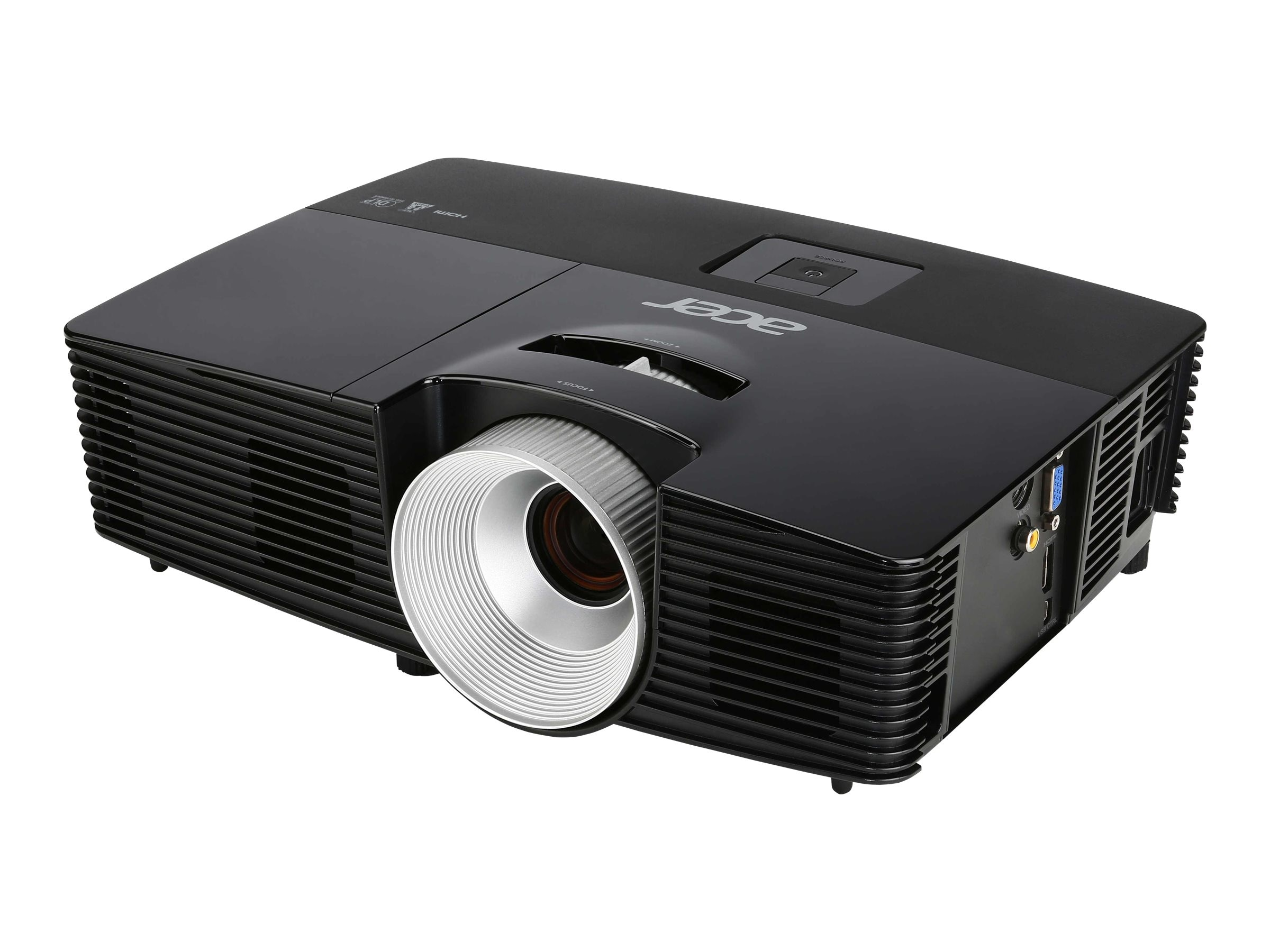 Acer X113PH SVGA DLP Projector, 3000 Lumens, Black, MR.JK611.008, 21484091, Projectors