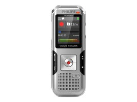 Philips Digital Voice Tracer DVT4000 Voice Recorder - Chrome Silver Shadow, DVT4000, 32209976, Voice Recorders & Accessories