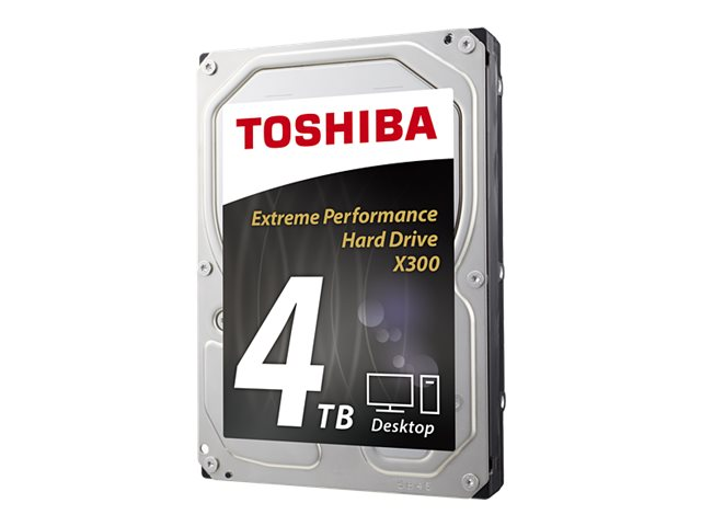 Toshiba 4TB X300 3.5 Internal Hard Drive