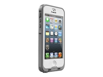 Lifeproof NUUD for iPhone 5 5S, White Clear, 2105-02, 18621868, Carrying Cases - Phones/PDAs