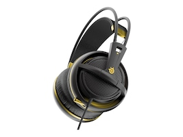Steelseries Siberia 200 Headset - Gold, 51134, 30806638, Headsets (w/ microphone)