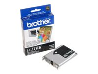 Brother Black Innobella High Yield Ink Cartridge, LC51HYBK, 7218694, Ink Cartridges & Ink Refill Kits