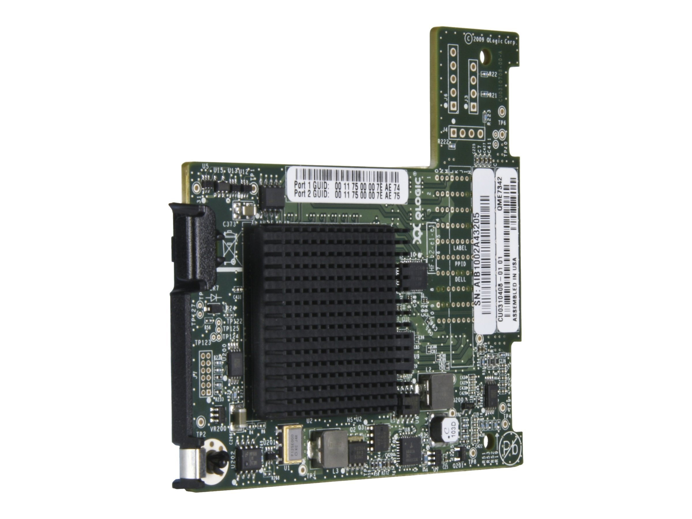 Intel True Scale Fabric Host CH Adapt Mezzanine Card, QME7342CK