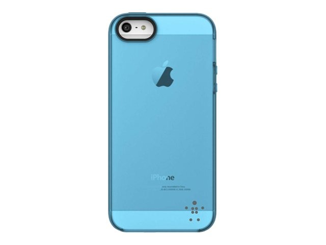 Belkin Grip Candy Sheer Case, Gravel Reflection for iPhone 5, F8W138TTC05, 14860853, Carrying Cases - Phones/PDAs
