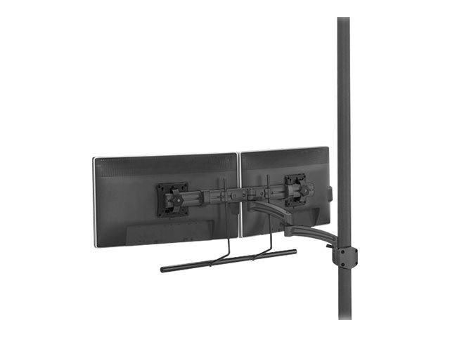 Chief Manufacturing Kontour K2P Dynamic Pole Mount, Dual Monitor Array, Black